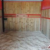 Intérieur boxes chevaux : Copeaux bois