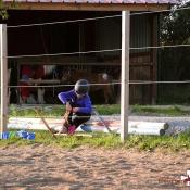 La préparation des cavaliers