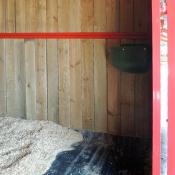 Intérieur boxes chevaux : tapis antidérapant en cahoutchouc